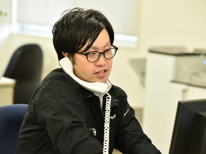 今は福岡で頑張っている田中も新卒採用。 将来期待の若手の1人です。